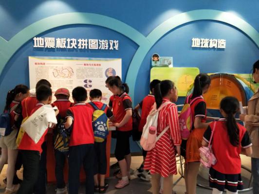 红安县科技馆地震展厅成为国家防灾减灾科普教育基地