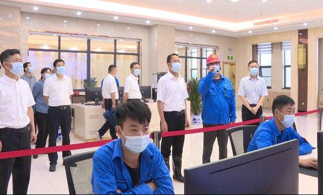 刘雪荣带队来红安开展全市二季度重点项目建设拉练检查