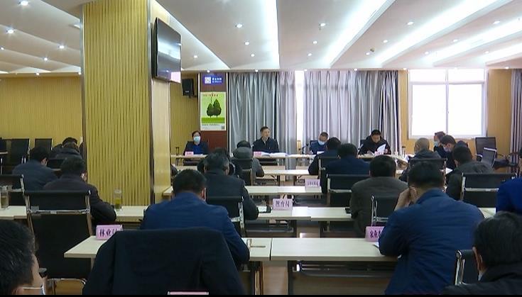 """余学武强调:大力实施教授回乡""""千人计划"""" 为红安""""十..."""