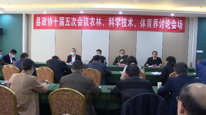 县政协十届五次会议各界别开展分组讨论