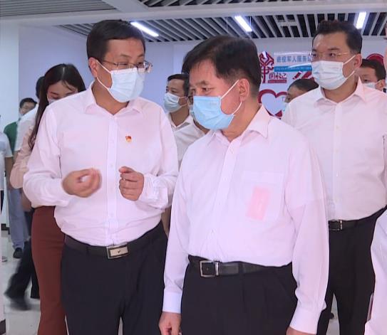 民政部党组书记、部长李纪恒到红安县调研