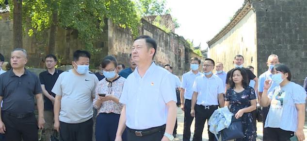"""红安县政协开展传统村落保护和利用""""协商在一线 请您来商量""""活动"""