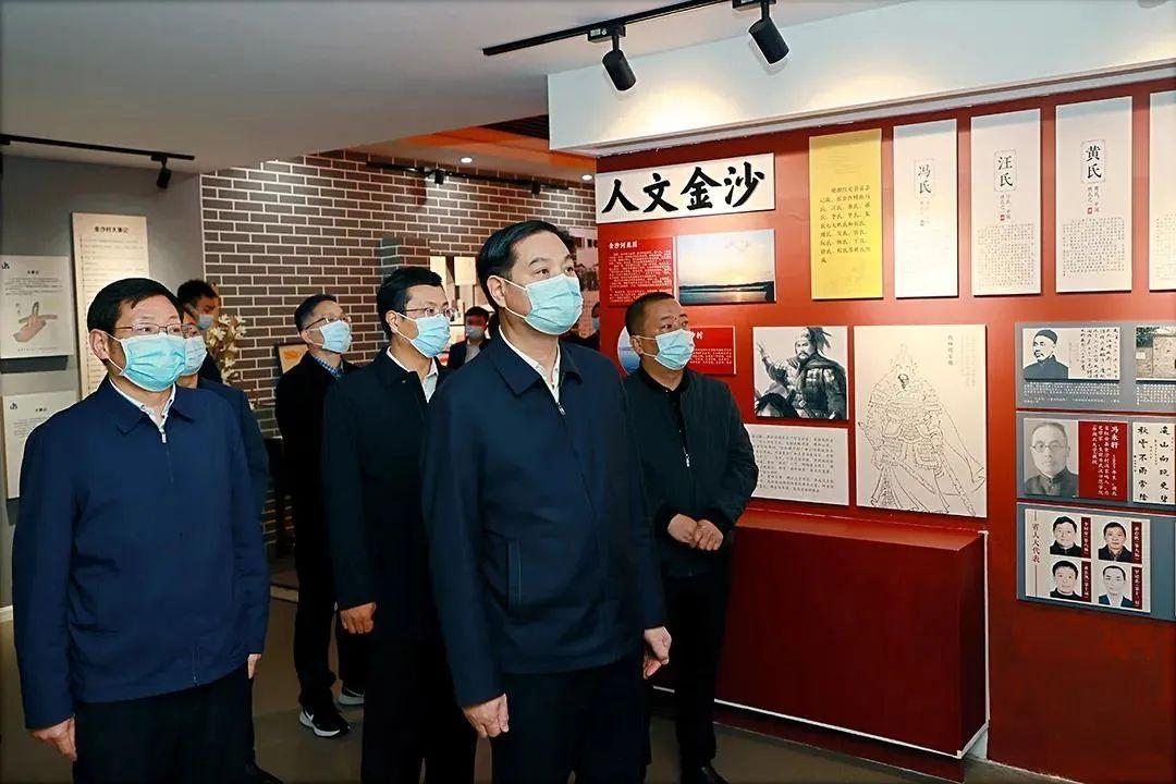 """张家胜来红安县调研村(社区)""""两委""""换届工作"""