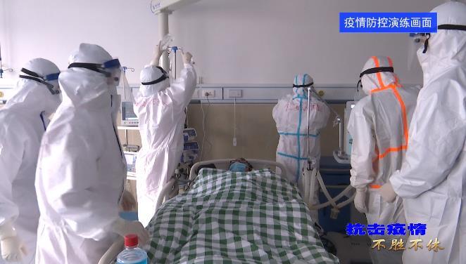 红安县举行2021年新冠肺炎疫情防控演练活动