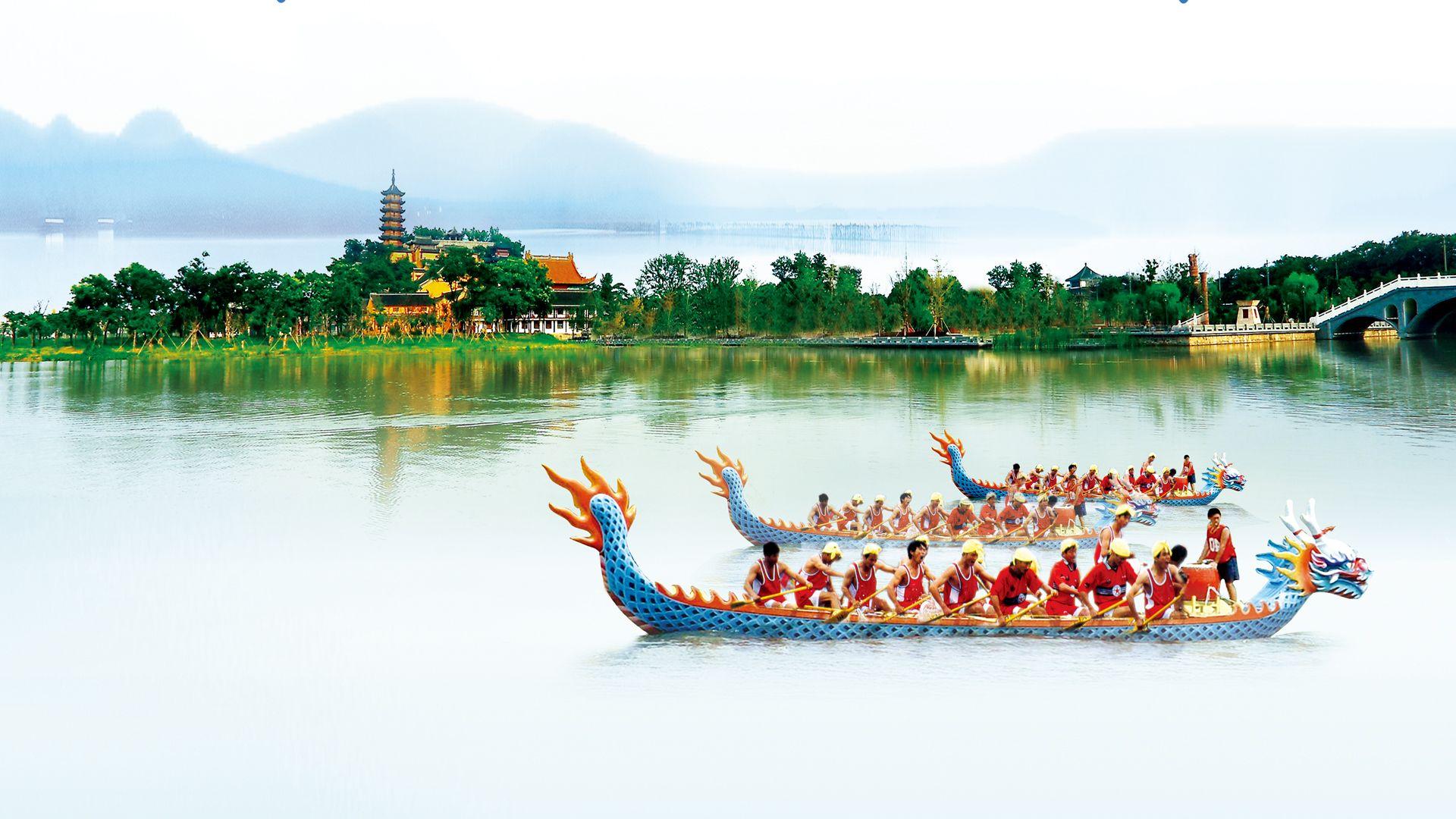 唐,宋,元,明,清各代的帝皇,均有临水边观看龙舟的娱乐,也属于游戏之类