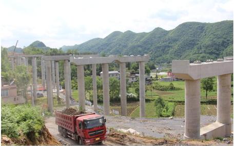 鹤峰| 宣鹤高速岩门子大桥盖梁共计18个 已完成17个
