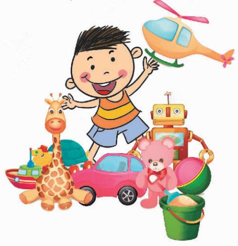 孩子们在老师的指导下可以完成一件小木工作品,有小木桶,小动物模型
