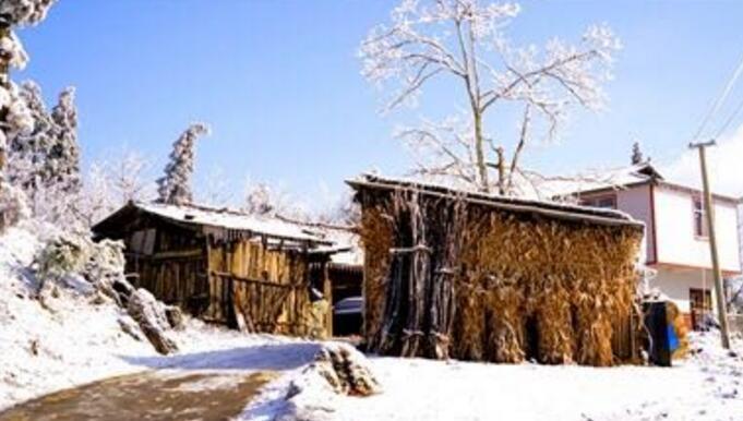 鹤峰 | 冰雪中的童话乡村