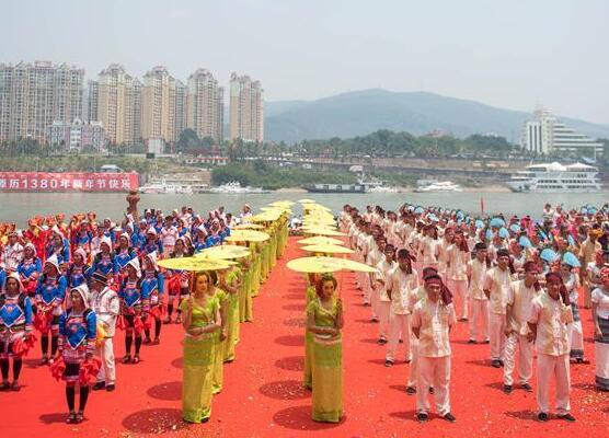 西双版纳举行傣历新年庆祝活动