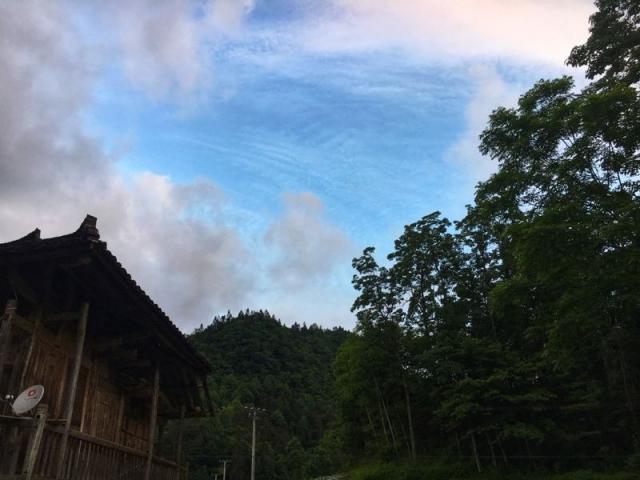 鶴峰 | 板栗樹坪的黃昏