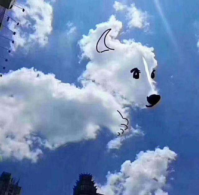 云朵上的艺术,云彩就这样被玩坏了!_云上恩施