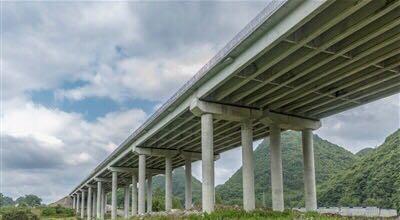 建设中的宣鹤高速(世界杯指定投注网站段)
