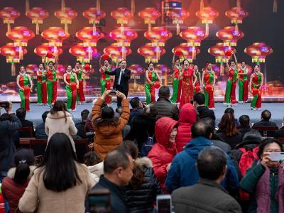 我縣舉辦第三屆秦巴臘梅文化旅游節