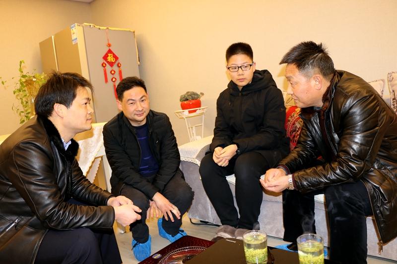 茂华中学:开展假期家访活动