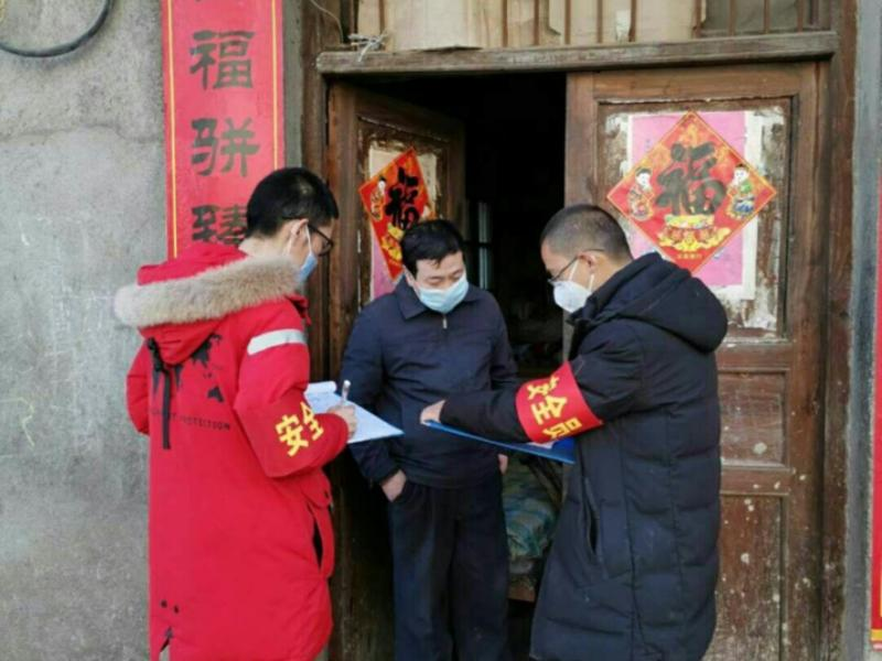 宝丰镇:疫情防控 志愿同行