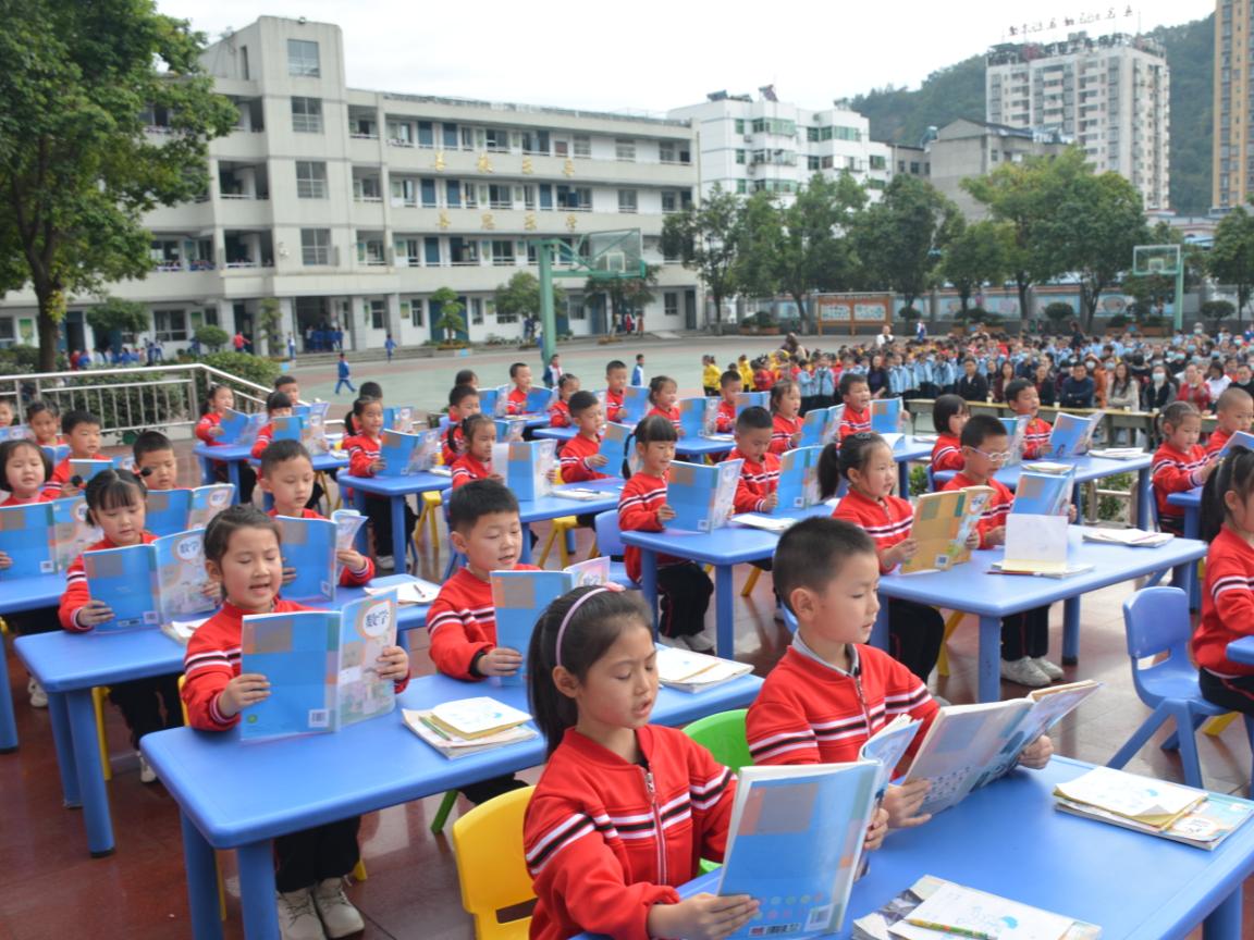 张振武小学开展养成教育展评活动