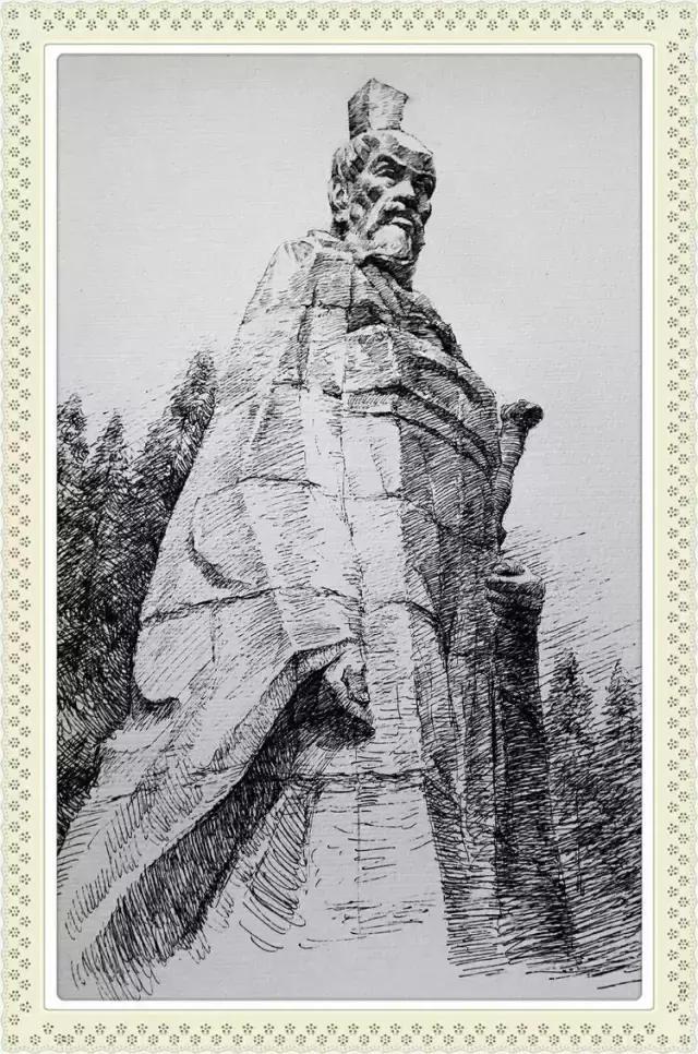 他用一支钢笔画活了荆州,简直美得不可思议!图片