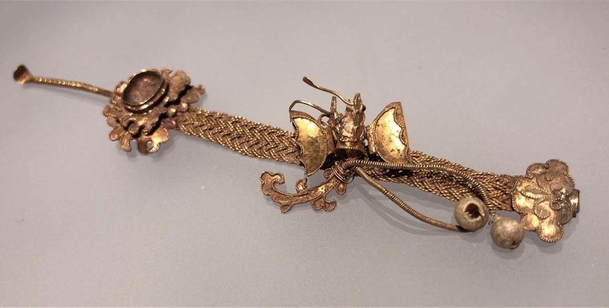 奢华!荆州博物馆148件金银器文物亮相舟山抚州有浙江最酒店情趣的图片