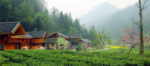 张高村位于沙溪乡,是川东至湘西古盐道位于利川,咸丰边界处的一个