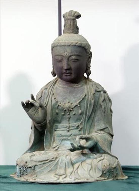 日佛像失窃流入韩国 韩法院:系韩国文物不用还
