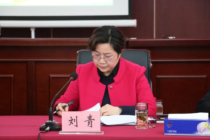 市人社局党组副书记、副局长刘青同志主持二阶段会议