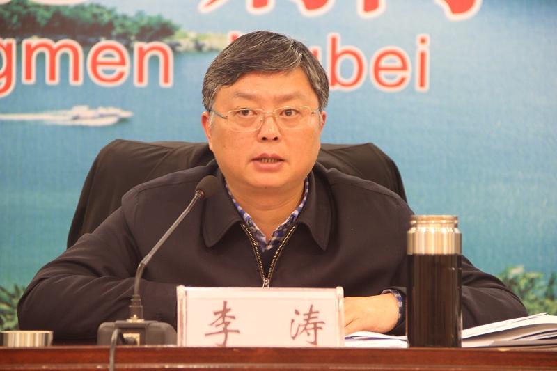 市委常委、常务副市长李涛同志讲话