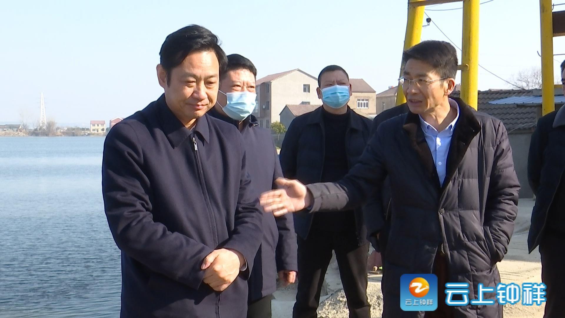 陈劲松督办护城河生态环境整治工作