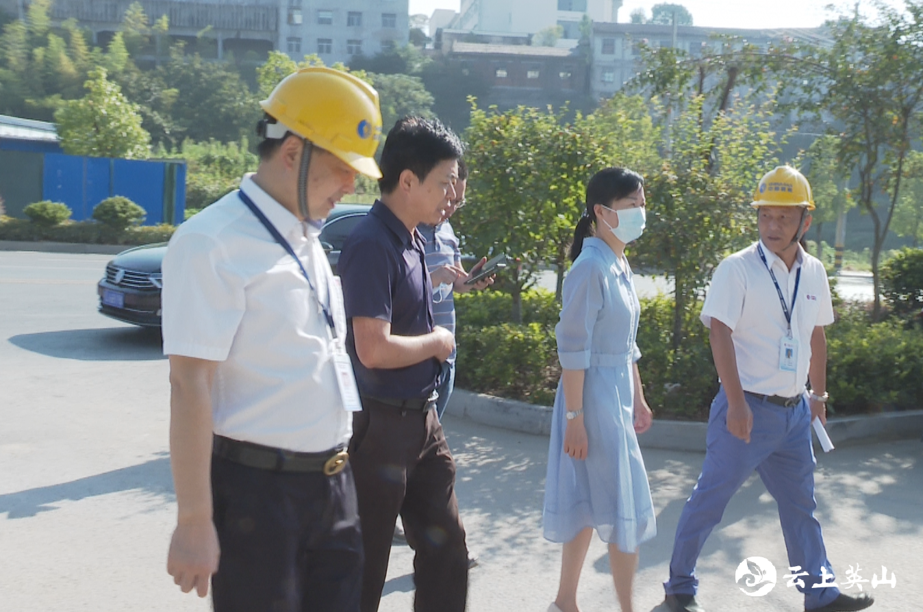 王海霞到重点行业领域检查督办安全生产工作