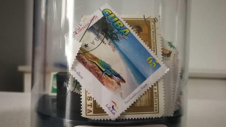 """千万别碰!这种""""邮票"""" 有""""毒"""""""
