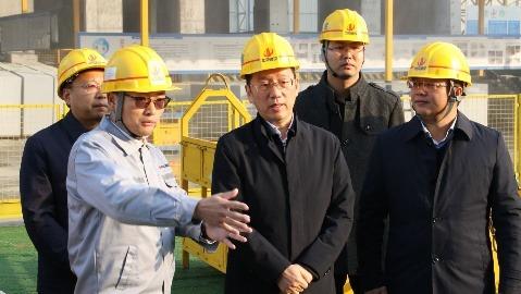 """李乐成实地督办中央环保督察""""回头看""""反馈意见整改落实情况"""