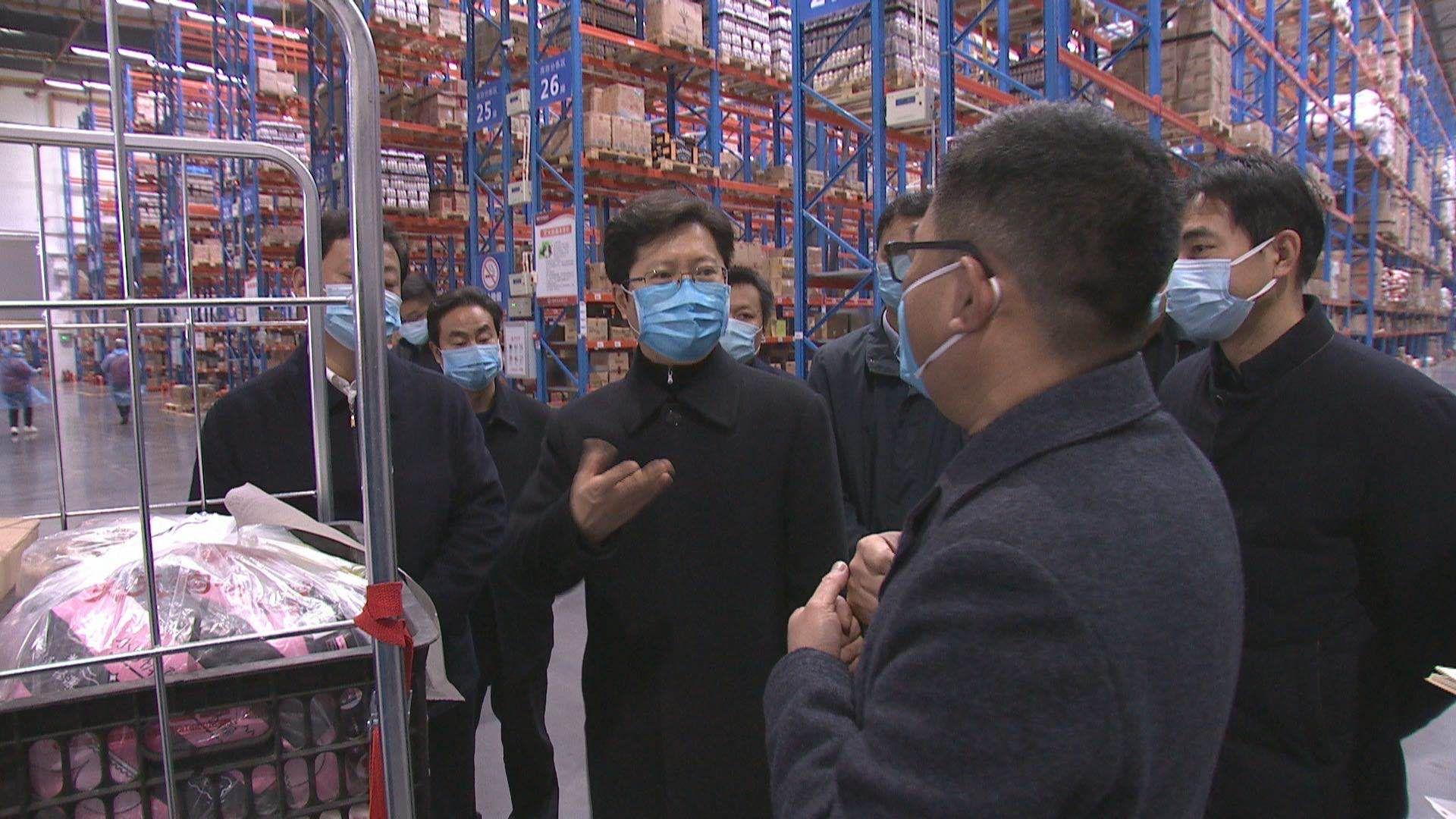郄英才:抓严防控有序生产 确保市场供应充足配送安全