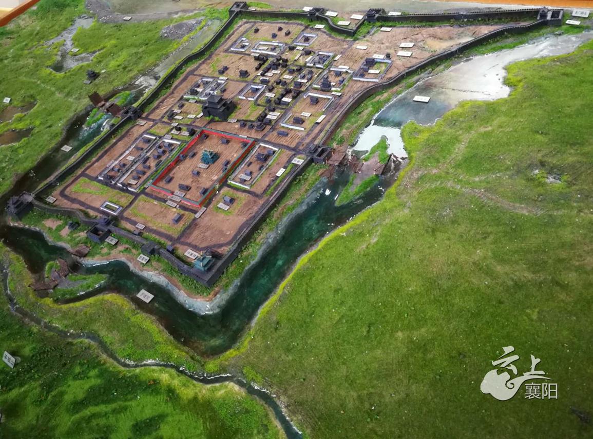 襄阳3D打印出一座明清古城 仅代表性建筑就有上百间