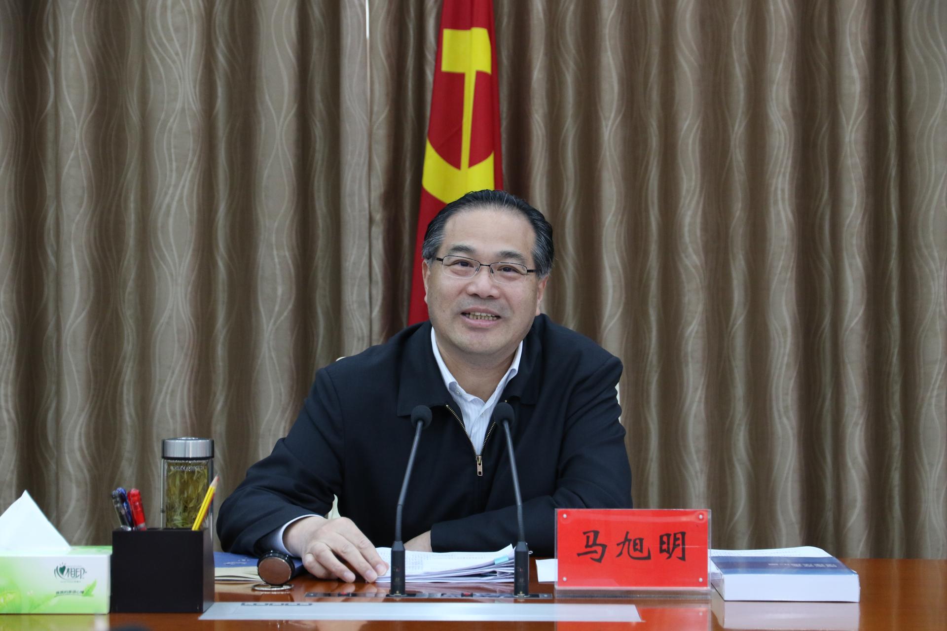 马旭明:主动作为打造支撑全省高质量发展的北部列阵  重点突破加快县域经济高质量发展