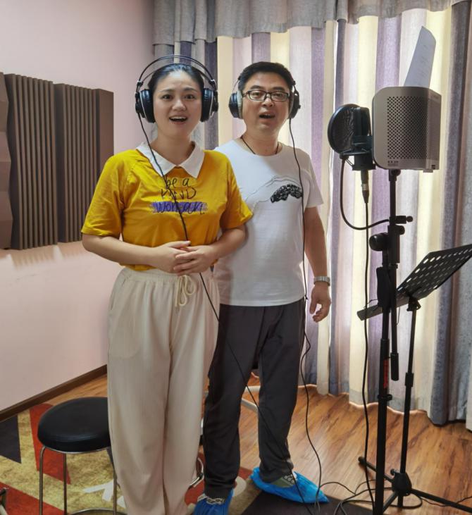 襄阳市庆祝建党百年系列广播剧《旗帜》主题歌录制完成!