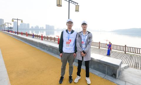 [云上嘉鱼]乐于奉献的青年志愿者——赛事现场特写
