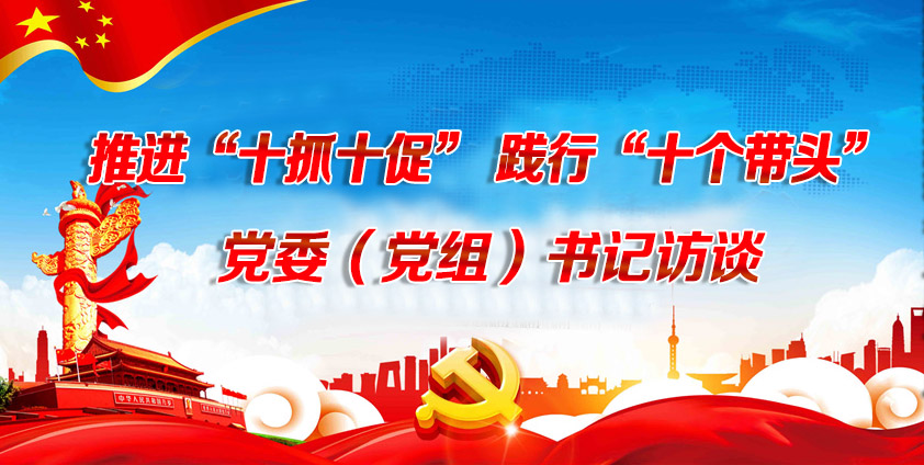 """推进""""十抓十促"""" 践行""""十个带头""""——党委(党组)书记访谈"""