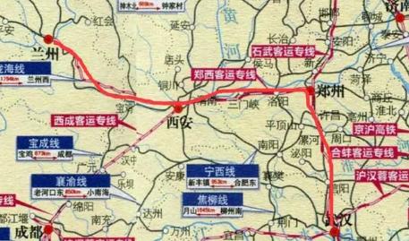 十堰到重庆火车路线图