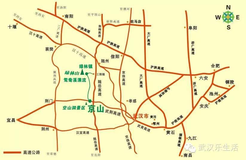 罗田风景风景区地图