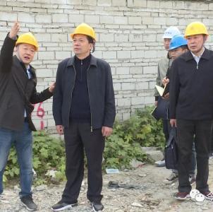 王燮耀调研重点项目建设