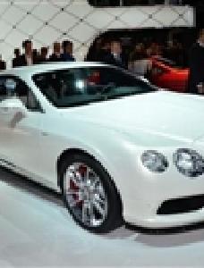 宾利欧陆GT V8 S底特律车展北美首发