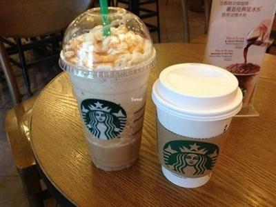 星巴克拿铁咖啡被指分量不足