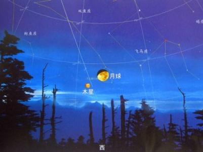 """今晚上演""""木星合月""""美丽天象"""
