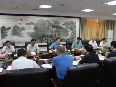 省委政法委与随州市委政法委召开工作对接会