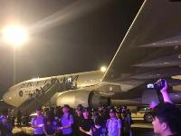 63名电信诈骗疑犯被押解回国