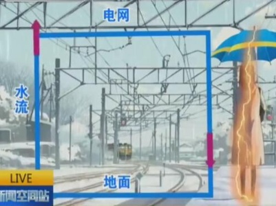 危险丨下雨天别在火车站台上撑伞