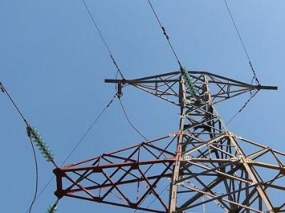 0千伏高压电线放电