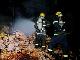 湖北荆州一工厂发生火灾 消防及时扑灭