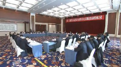 V视 | 湖北代表团举行第八次全体会议 审议各项决议决定草案和民法总则草案建议表决稿等