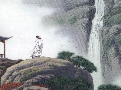 李白《望庐山瀑布》其实有两首,另一首风格迥然不同