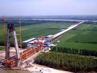 石首长江大桥明年6月可实现南北合拢 2019年通车